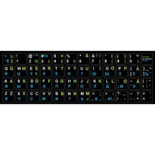 Наклейка на клавиатуру Финский