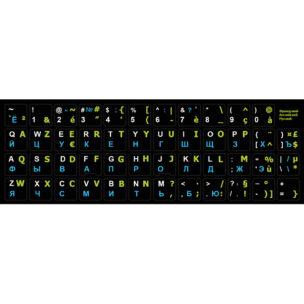 Наклейка на клавиатуру Французкий