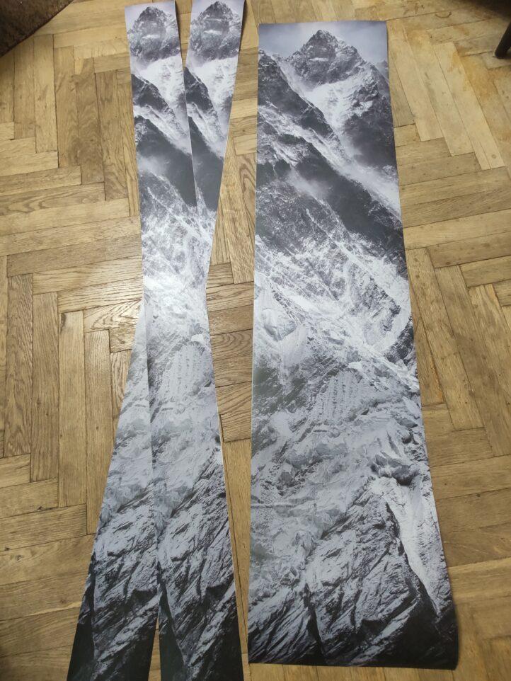 Наклейка на сноуборд и лыжи
