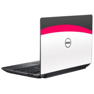 Наклейка на ноутбук Dell