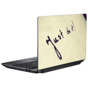 Наклейка на ноутбук just do it!