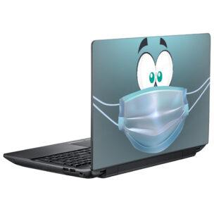 Наклейка на ноутбук #залишайсявдома #1