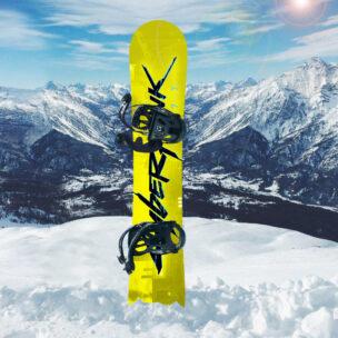 Наклейка на сноуборд Cyberpunk