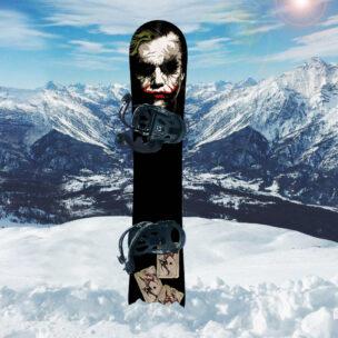 Наклейка на сноуборд Джокер