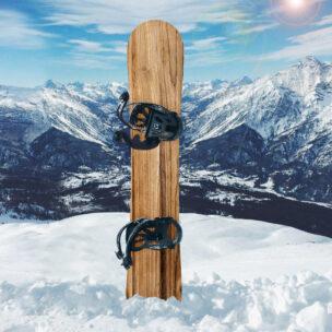 Наклейка на сноуборд Дерево